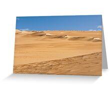 Sahara Greeting Card