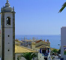 Albufeira Bell Tower by Tom Gomez