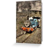 Thomas The Tank engine Greeting Card