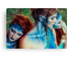Sirena - The Sirens III Canvas Print