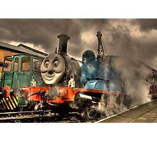 Thomas At The Platform Photographic Print