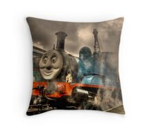 Thomas At The Platform Throw Pillow