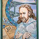 Saint Columcille of Iona by Alice McMahon