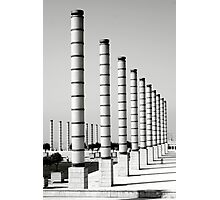 Barcelona Olympic Stadium Photographic Print