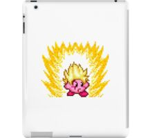 Pixel Super Saiyan Kirby iPad Case/Skin