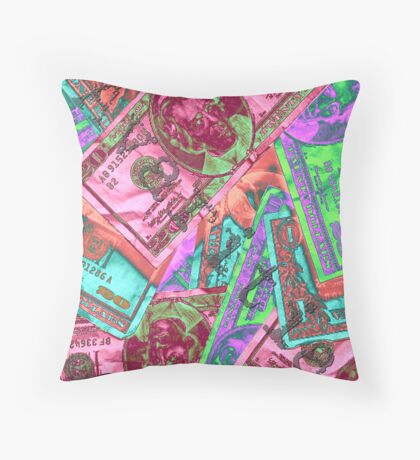 7 Deadly Sins: Greed Throw Pillow