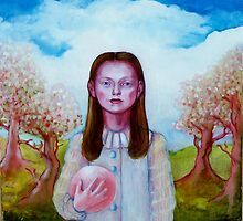 Isabel with Ball by Rachel  Aponte