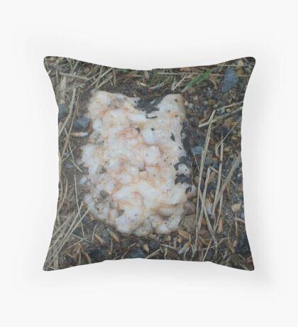 Burried Quartz! Throw Pillow