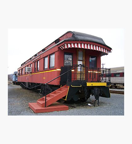 Tioga Pennsylvania Excursion Train Station  Photographic Print