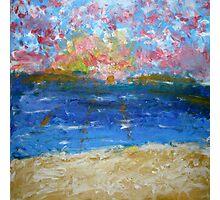 Seacliff Sunset Photographic Print