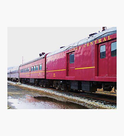 Tioga Pennsylvania Excursion Train Photographic Print