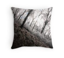 enchanted forest unedited Throw Pillow