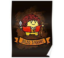 Bouncy Bilbo Poster