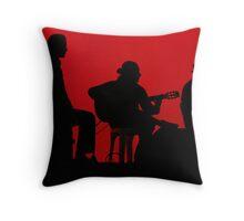 Andrej Vujicic (Puerto Flamenco), Richard Tedesco & Manolo Jaen (Arte Kanela) Throw Pillow