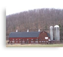 Poultry Barn  Canvas Print