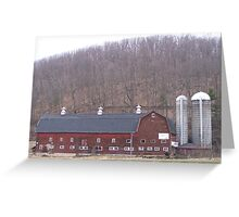 Poultry Barn  Greeting Card