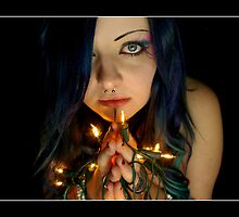 Pray to the Fairy Queen by carrollcreative