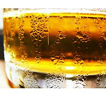 Ahhh beer Photographic Print