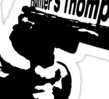 Hunter S Thompson Sticker