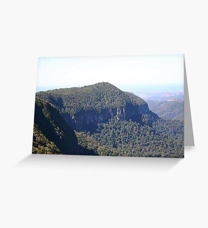 volcanic rim Greeting Card