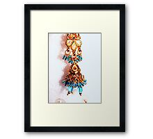 Another One Ear Ring Framed Print