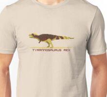 Pixel Tyrannosaurus Unisex T-Shirt