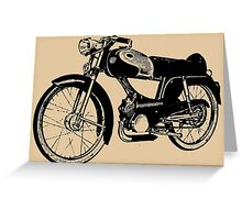 MOTORCYCLE-12 Greeting Card