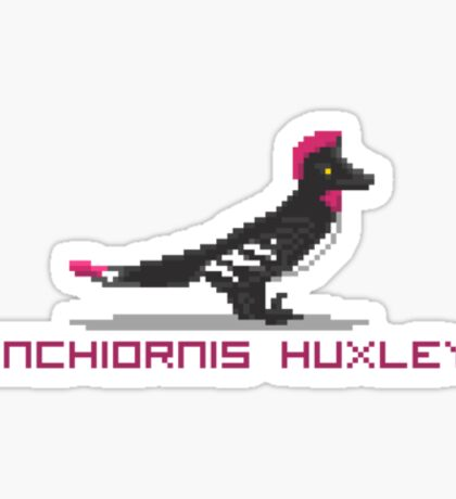 Pixel Anchiornis Sticker