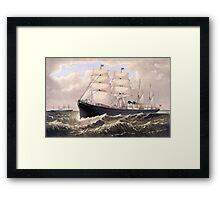 Steamships Framed Print