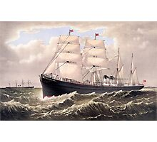 Steamships Photographic Print