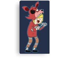 What Time Is It? Foxy Time!! Canvas Print