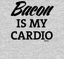 Bacon is my Cardio, black type Unisex T-Shirt