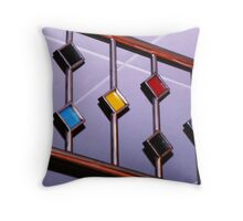 Colorful Deco Throw Pillow
