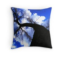 Tall Tree Throw Pillow