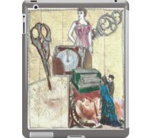 Dresses; While You Wait!(Invented By A Woman,Of Course:-) iPad Case/Skin