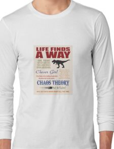 Things I learned from Jurassic Park Long Sleeve T-Shirt