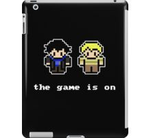 8-Bit Sherlock: The Game is On iPad Case/Skin