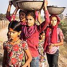 Children in Agra by amira