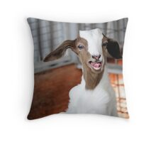 Hello!  Looks Like Lunch. Throw Pillow
