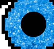 Pixel Glitter Eye Sticker