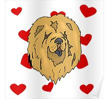 Chow Chow Love Poster