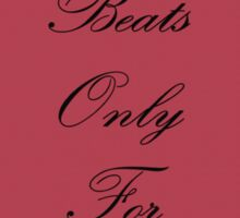 My Heart Beats Only for You-Only Heart Sticker