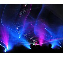 Laser Light Show Photographic Print