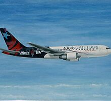"Delta Air Lines ""Spirit of Delta"" Boeing 767-200 by Hernan W. Anibarro"