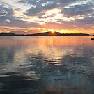 Oban Sunset over Kerrera  by MacLeod