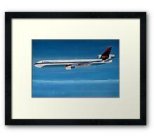 Delta Air Lines MD-11 Framed Print
