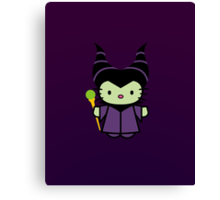 Hello Kitty - Maleficent Canvas Print