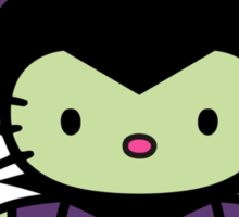 Hello Kitty - Maleficent Sticker