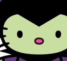 Hello Kitty - Maleficent Sticker