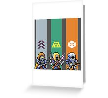 DESTINY - OLD SCHOOL STRIKE TEAM Greeting Card